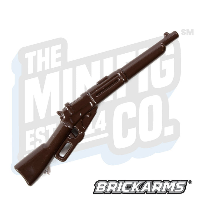 Custom Printed Lego - M1895 Lever Action Russian (Brown) - The Minifig Co.