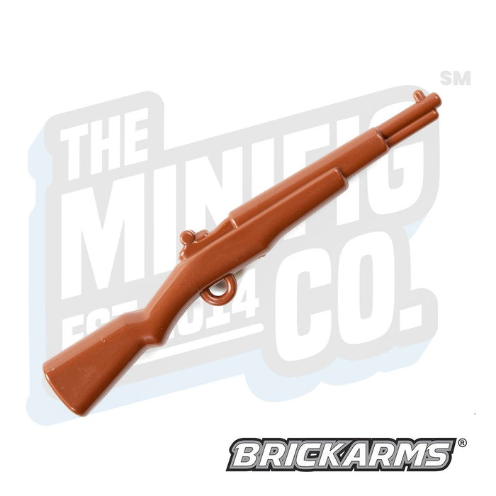 Custom Printed Lego - M1 Garand (Brown) - The Minifig Co.