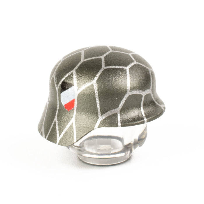 Custom Printed Lego - Chickenwire Stahlhelm - The Minifig Co.