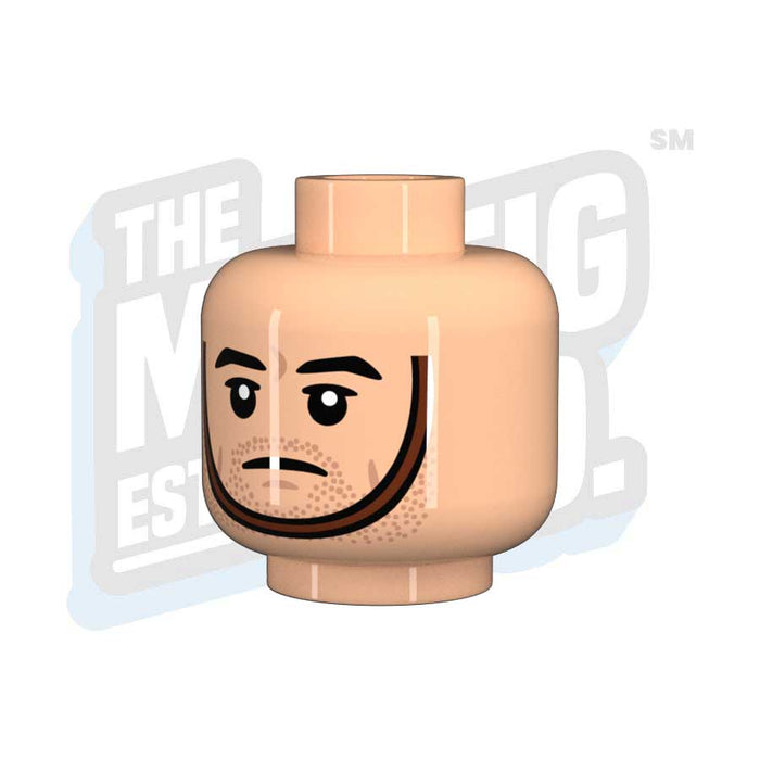 Chinstrap Head #06 (Lt. Flesh) - The Minifig Co.