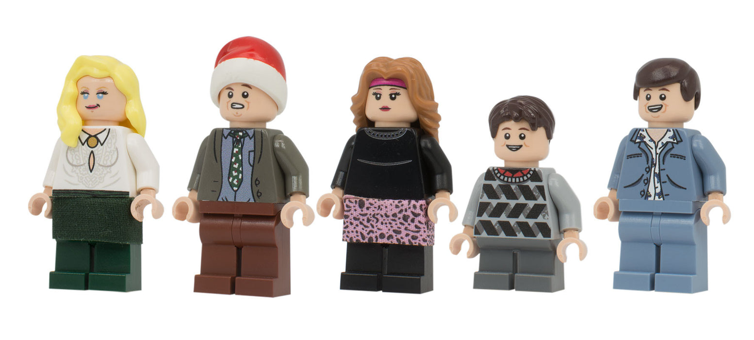 Custom Printed Lego - Hap Hap Happiest Christmas Set - The Minifig Co.
