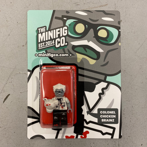 Custom Printed Lego - Colonel Chicken Brainz - The Minifig Co.