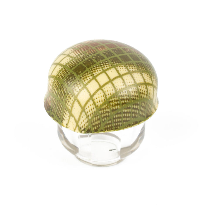 Netted Normandy Fallschirmhelm