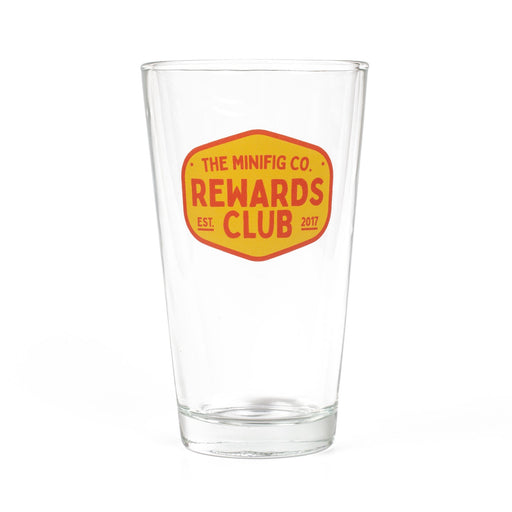 Custom Printed Lego - TMC Rewards Pint Glass - The Minifig Co.