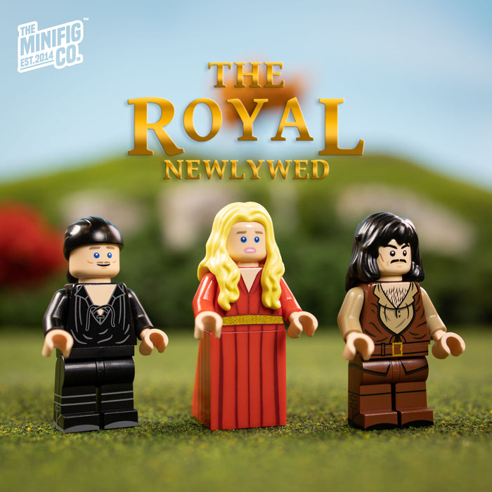 Custom Printed Lego - The Royal Newlywed - The Minifig Co.