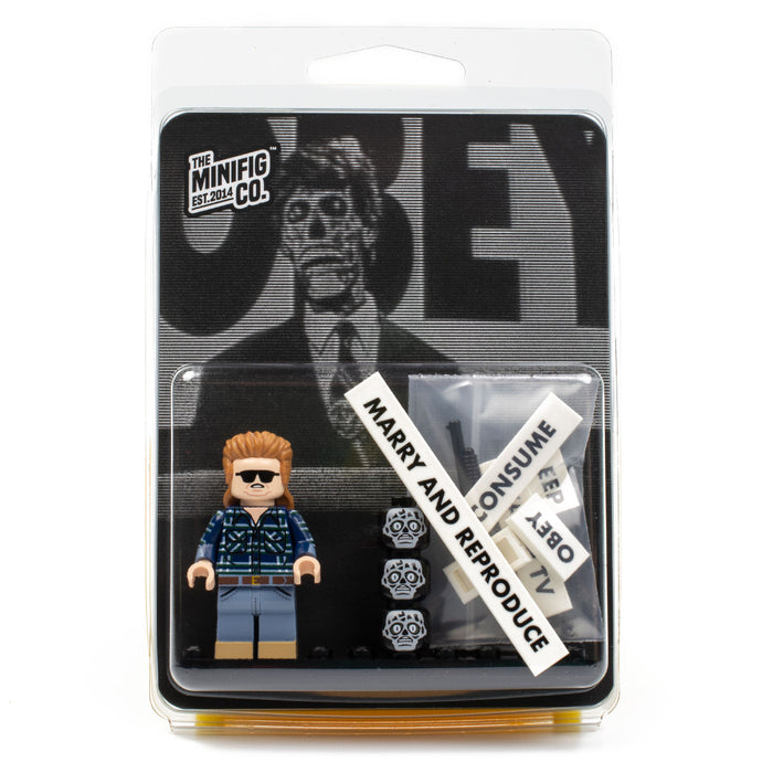 Custom Printed Lego - Bubblegum Chewer - The Minifig Co.