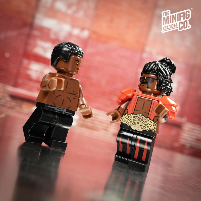 Custom Printed Lego - Martial Arts Adversaries - The Minifig Co.
