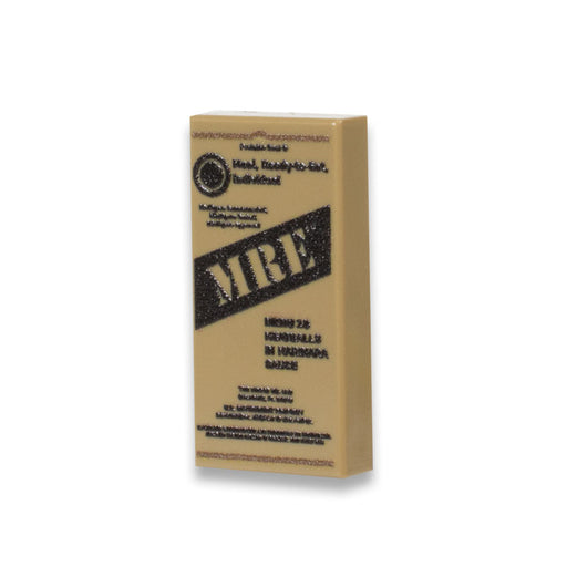 Custom Printed Lego - MRE (Version 2) Tile - The Minifig Co.