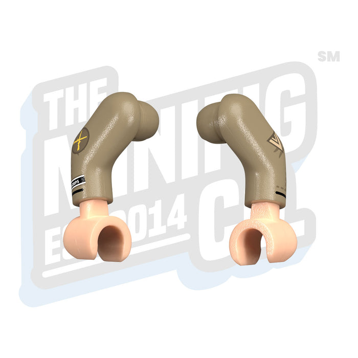 Custom Printed Lego - Luftwaffe Obergefreiter (Flight) - The Minifig Co.