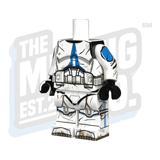 Custom Printed Lego - 501st Battle Hardened Body - The Minifig Co.