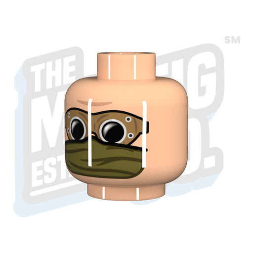 DAK Head #06 - The Minifig Co.