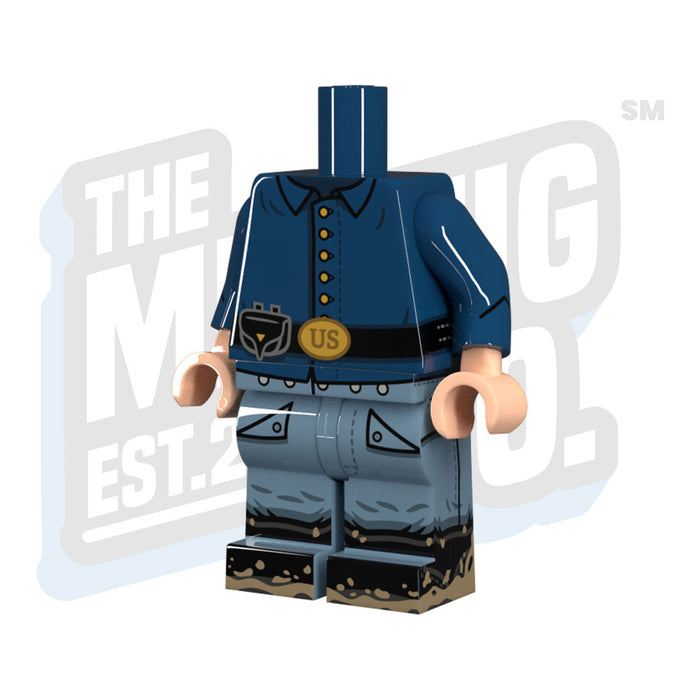 Custom Printed Lego - Union Body (Sackcoat) - The Minifig Co.