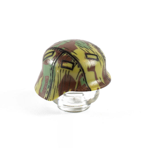 Custom Printed Lego - Splinter Camo Stahlhelm - The Minifig Co.