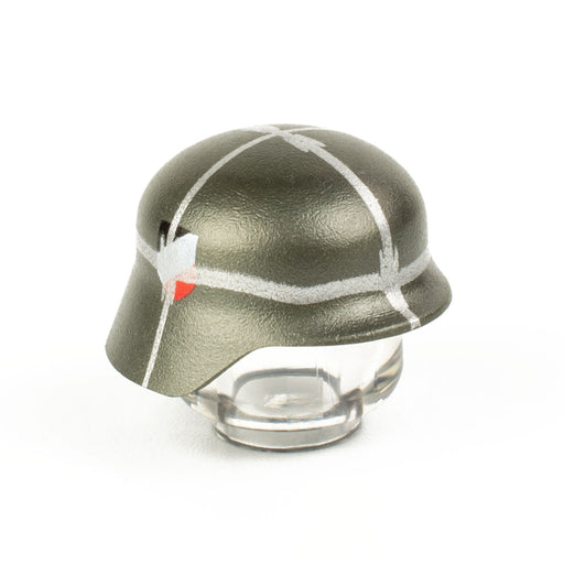 Custom Printed Lego - Thin-Wire Stahlhelm - The Minifig Co.