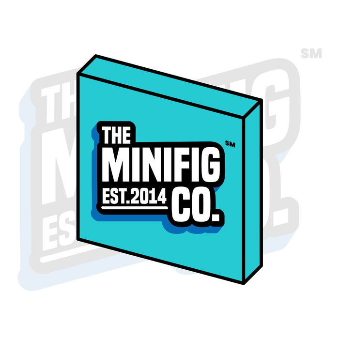 Custom Printed Lego - TMC Logo Tile - The Minifig Co.
