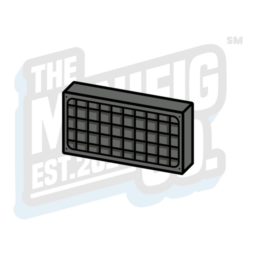 Custom Printed Lego - Vehicle Vent Tile (1x2) - The Minifig Co.
