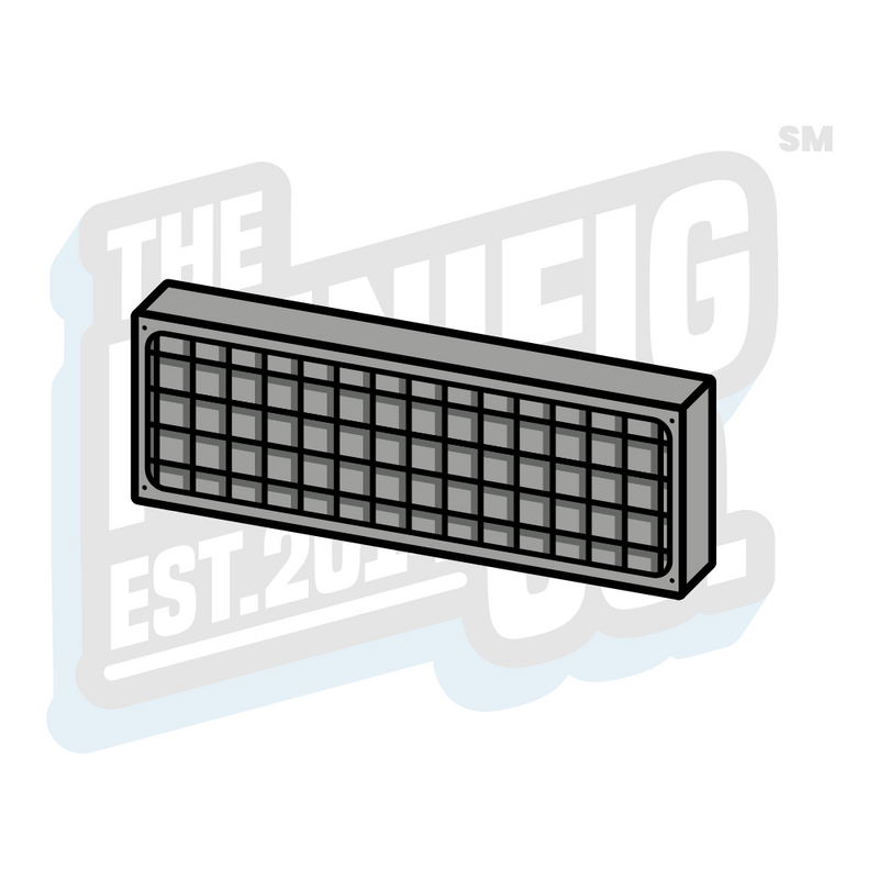 Custom Printed Lego - Vehicle Vent Tile (1x3) - The Minifig Co.