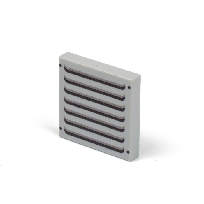 Custom Printed Lego - Vent Tile LBG (2x2) - The Minifig Co.