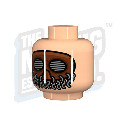 Custom Printed Lego - WW1 Splatter Mask - The Minifig Co.