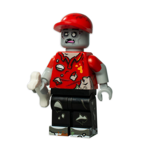 Custom Printed Lego - Zombie Clucker - The Minifig Co.