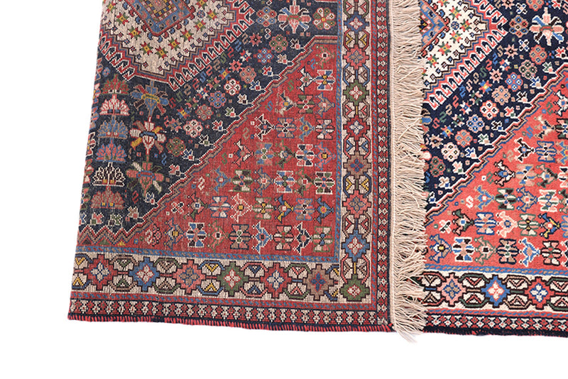 3 x 5 Feet Colorful Turkish Caucasian Rug | Hand Woven Area Rug | Oriental Persian Rug | Living Room Rug | Accent Geometric Pattern Wool Rug