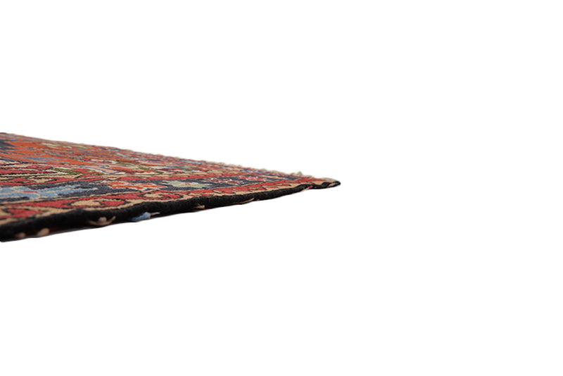 One of a kind Colorful Antique Rug | 4 x 6 Persian Caucasian Rug | Living Room Rug | Accent Hand Knotted Wool Rug | Animal Print Pattern Rug
