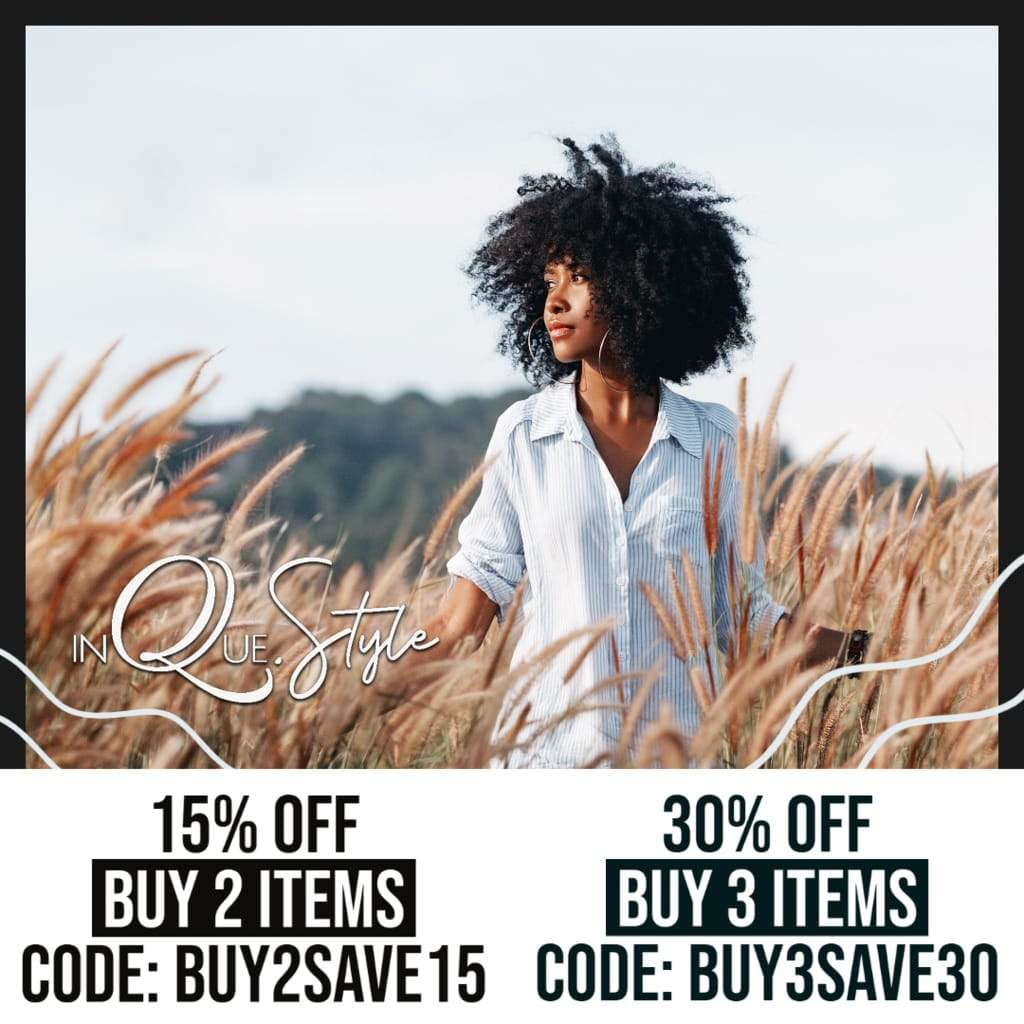 SAVE 15% OFF when you buy 2 items, use promo code: BUY2SAVE15  - SAVE 30% OFF when you buy 3 items, use promo code: BUY3SAVE30