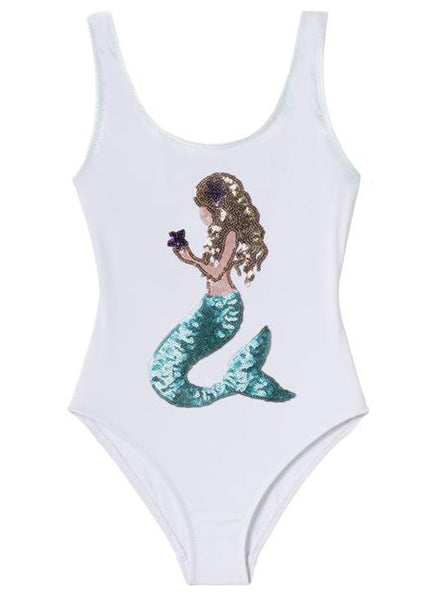Sequined Mermaid Suit - Addison Lane