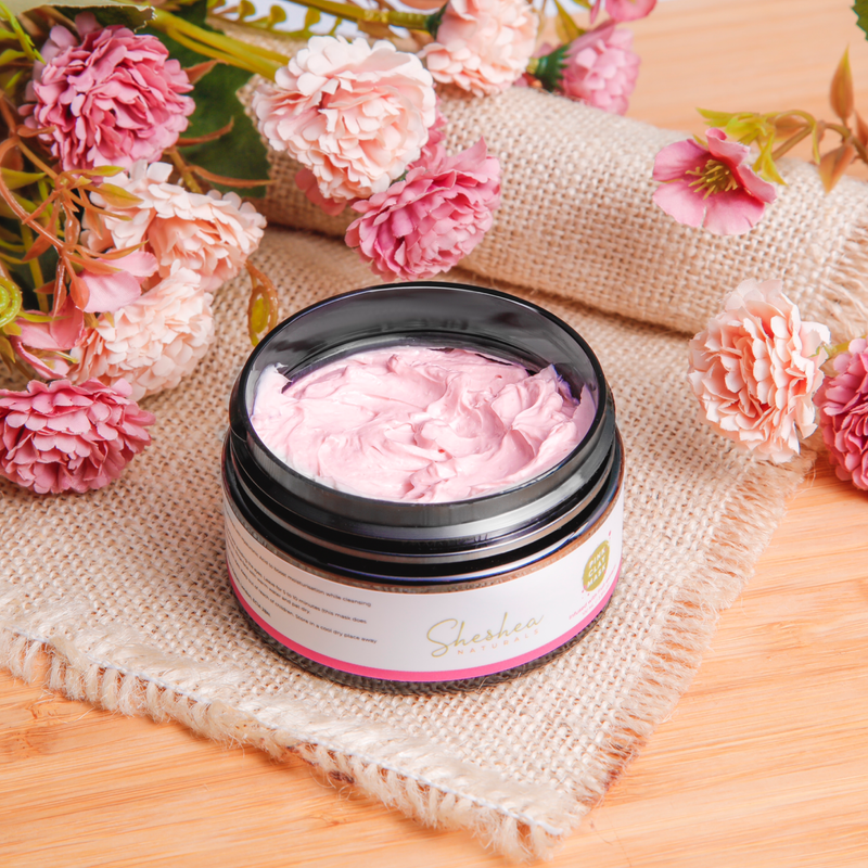 Luxurious French Pink Clay Face Mask