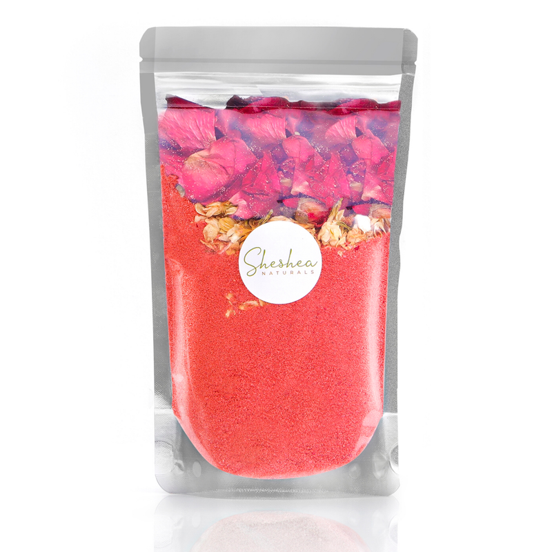 Love and Roses Shimmer Bath Bomb