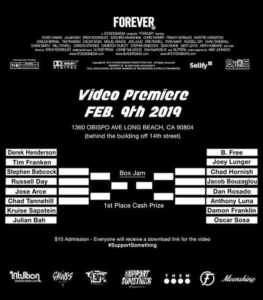 UPCOMING EVENT: Blader Gang FOREVER Premiere + Box Battle