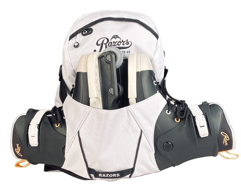 Razors Humble White skate backpack
