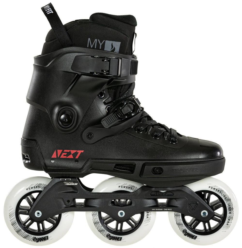 Powerslide Next Core Black 100mm inline skates