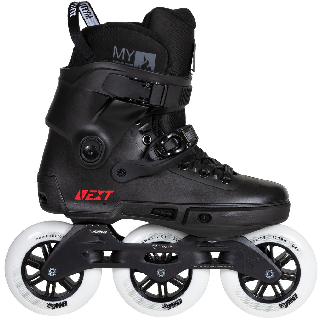 Powerslide Next Core Black 110mm inline skates