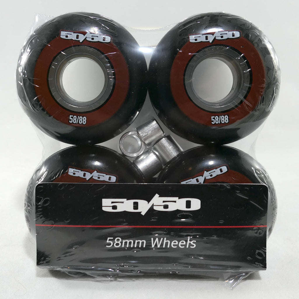 50/50 Red LE 58mm wheel