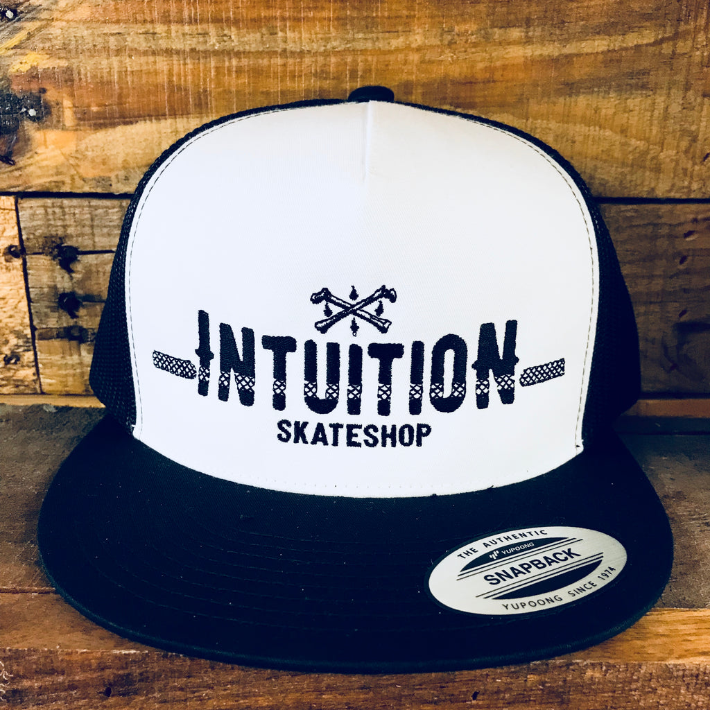 Intuition Never Fade Cloth Front trucker hat