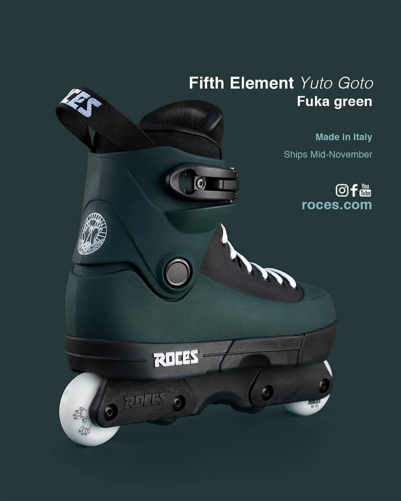 Roces 5th Element Yuto Goto skates