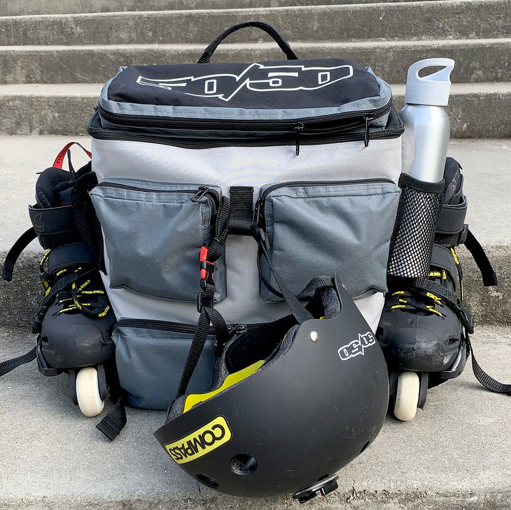 Fifty-50 Backpack (Carries skates!)