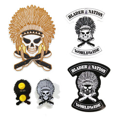 Blader Nation Patch & Pin set