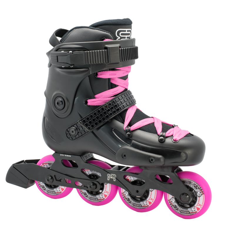FRW 80 Black and Pink inline skates