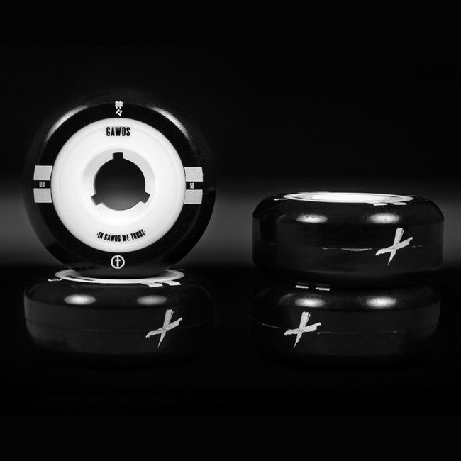 Gawds Dual Density inline wheels