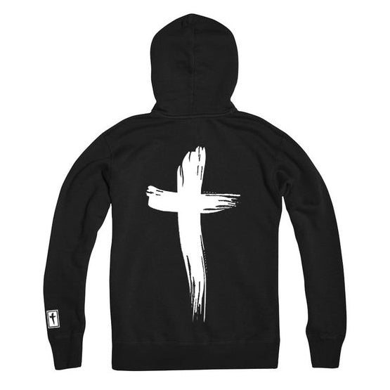 Gawds Cross hooded sweatshirt