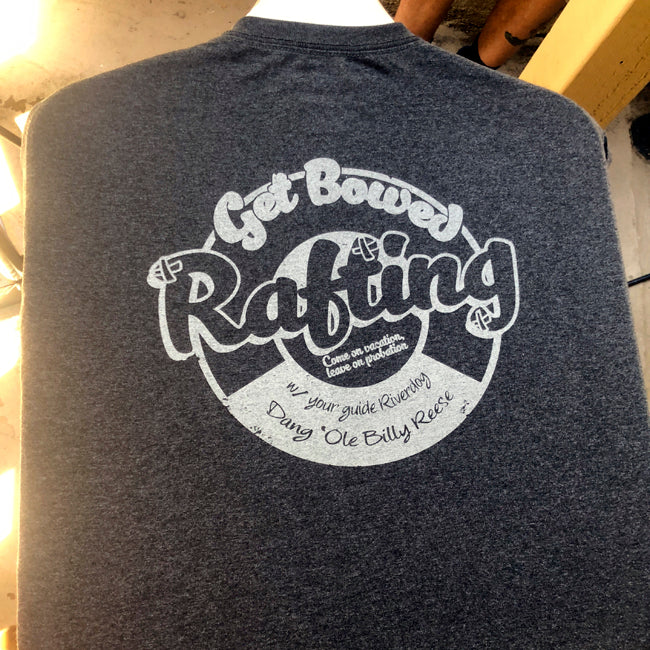 Get Bowed Rafting shirt