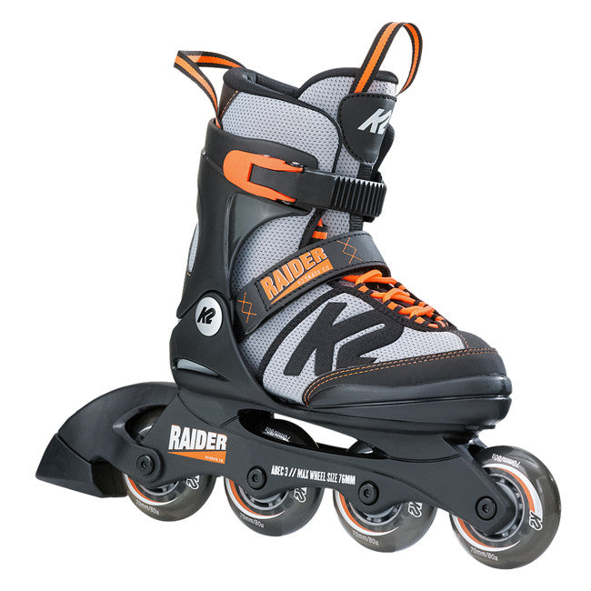 K2 Raider Jr adjustable skates