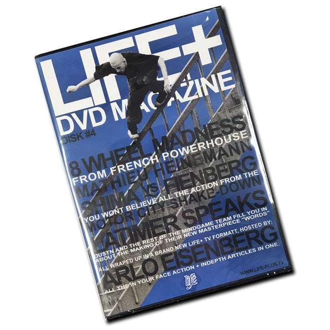 Life + Plus Issue 4 DVD