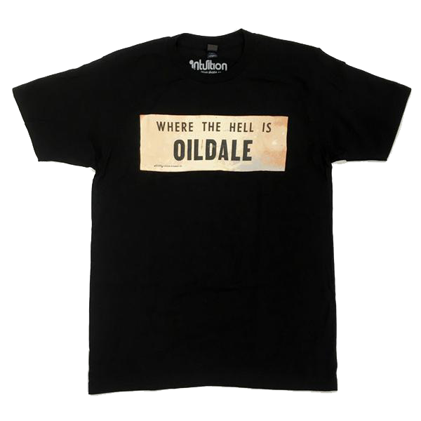 Where the Hell Is Oildale shirt