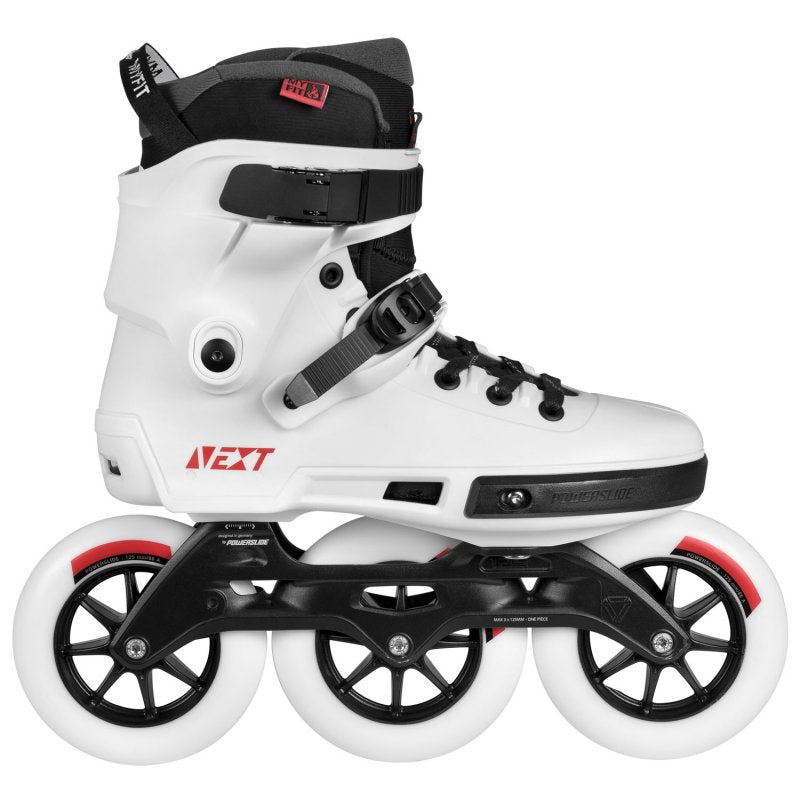 Powerslide Next White 125mm inline skates