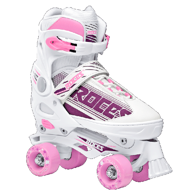 Roces Quaddy Girls adjustable roller skates
