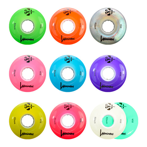 Seba Luminous roller skate wheels