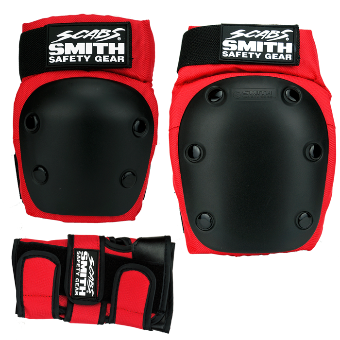 Smith Scabs Three Pack skate pads set